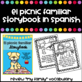 """""""El Picnic Familiar"""" Story in Spanish to review family vocabulary"""