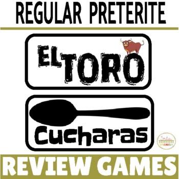 Review Game Pack for Preterite Tense of Regular Verbs