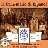 Common Misused Spanish Expressions Wall Decor Cemetery