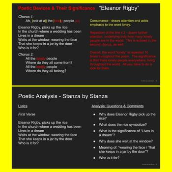 """""""Eleanor Rigby"""" song/poem (wonderful lesson for OF MICE AND MEN)"""