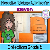 """Eleven"" Interactive Notebook ELA HMH Collection 4 Gr. 6"
