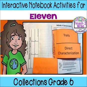 """Eleven"" Interactive Notebook ELA Collection 4 Gr. 6"