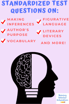 """Eleven"" by Sandra Cisneros Multiple-Choice Reading Comprehension Quiz/Test"