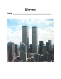 """""""Eleven"""" by Tom Rogers- Chapter-by-Chapter Comprehension Questions"""