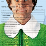 """""""Elf"""" Literary Devices Movie Guide"""
