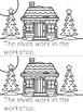 """Elves at Work"" Emergent Reader (A Christmas/December Doll"