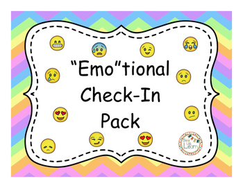 """Emo""tional Check-In Pack"