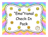 """""""Emo""""tional Check-In Pack"""