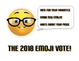 """Emoji Vote"" 2018 Art & Writing Activity"