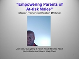 """""""Empowering Parents of At-risk Males""""eBook"""