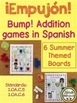 ¡Empujón! ~ Bump! Addition 4 Seasons Bundle in Spanish