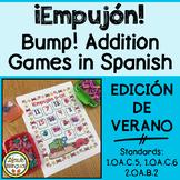 ¡Empujón! ~ Summer Bump Addition in Spanish