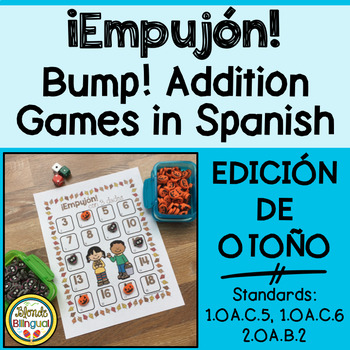 ¡Empujón! ~ Fall Bump Addition in Spanish