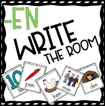 -En Family Word Work and Activities