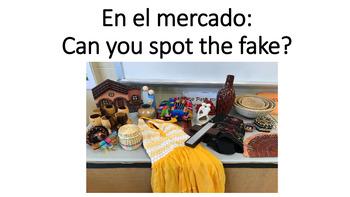 """En el mercado"" Can you spot the fake?"