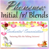 ★ Enchanted Enunciation - Initial /r/ Blends Articulation Word Search ★
