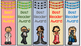 """""""Encouraging Words"""" - Bookmarks for Reading"""