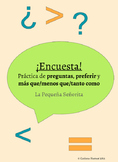 Encuesta: Preferir and comparatives