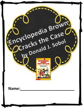 """Encyclopedia Brown Takes the Cake"" Novel Unit"