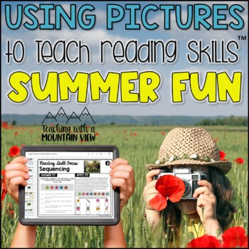 Using Pictures to Teach Reading Skills (Back to School Add-On Pack)