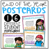 {End of the Year} Postcards/Gifts