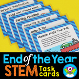 """End of the Year"" STEM Task Cards (May/June)"