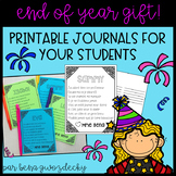 {End of year gift!} Editable French summer journals for yo