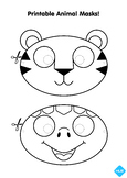 #EndangeredSpeciesDay- Printable Animal Mask