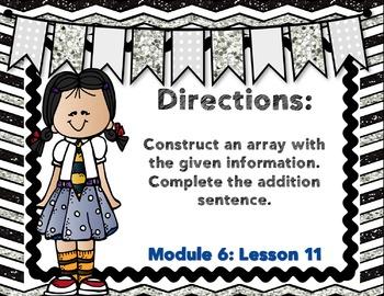Engage NY- Eureka Math Module 6 : Lesson 11 Math Center-Task Cards
