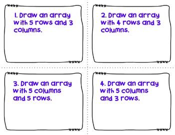 Engage NY-Eureka Math Module 6: Lesson 12  Math Center - Task Cards