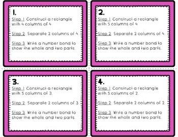 Engage NY-Eureka Math Module 6: Lesson 13  Math Center - Task Cards