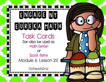 Engage NY-Eureka Math Module 6: Lesson 20 Math Center - Ta