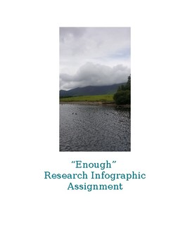 """""""Enough"""" Research Infographic"""