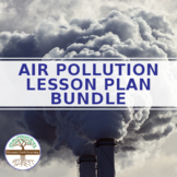 Air Pollution BUNDLE - articles and worksheets - distance