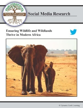 (Environment & Conservation) African Wildlife Foundation - Twitter Research