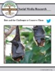 (Environment & Conservation) Bat Conservation Trust - Twitter Research