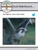 The Fight for Avian Conservation  -  Research Activity - distance learning