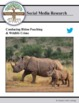 (Environment & Conservation) Project Rhino KZN - Twitter Research
