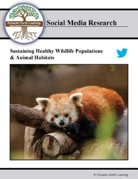 Sustaining Healthy Wildlife Populations and Animal Habitats - distance learning