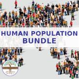 Human population BUNDLE - distance learning friendly