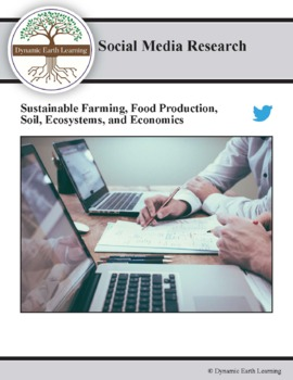 (Environment & Sustainability) Ag Science Writer - Twitter Research