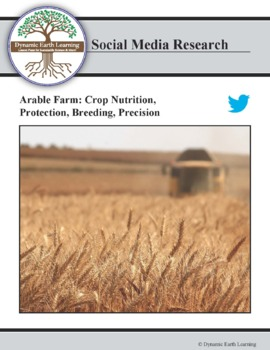 (Environment & Sustainability)  CropTecShow - Twitter Research