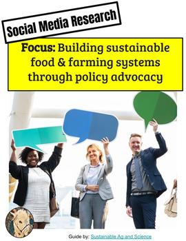 (Environment & Sustainability)  Farmers Guild & CAFF - Twitter Research