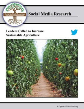 (Environment & Sustainability) Farming First - Twitter Research