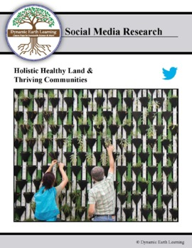 (Environment & Sustainability) Holistic Mgmt. Int'l - Twitter Research
