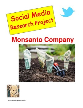 (Environment & Sustainability) Monsanto Company - Twitter Research