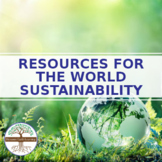 Resources for the World - Sustainability Social Media Research Project