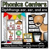 -Er, -Eer, -Ear, and -Ere Word Work Activities