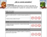¿Es tu comida saludable? (Is Your Food Healthy?) - Examini