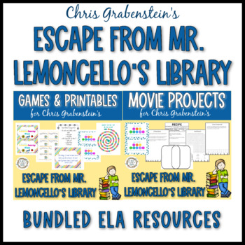 """Escape from Mr. Lemoncello's Library"" Movie & Party Pack"